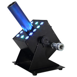 12pcsx 3W RGB 3IN1 LED Jet-Kanone des Nebel-Maschine CO2 Stadiums-Spezialeffekt-multi Winkel-DMX512